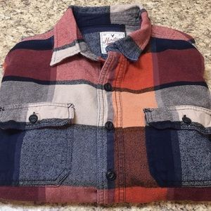 AEO Heritage Classic Fit Flannel Shirt